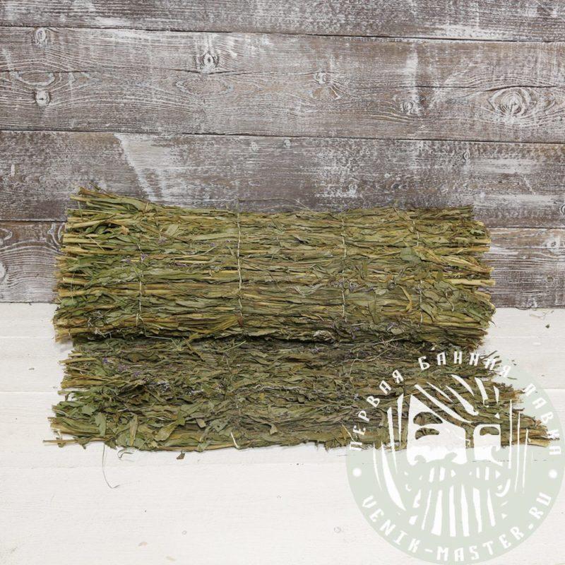 Коврик из трав для бани