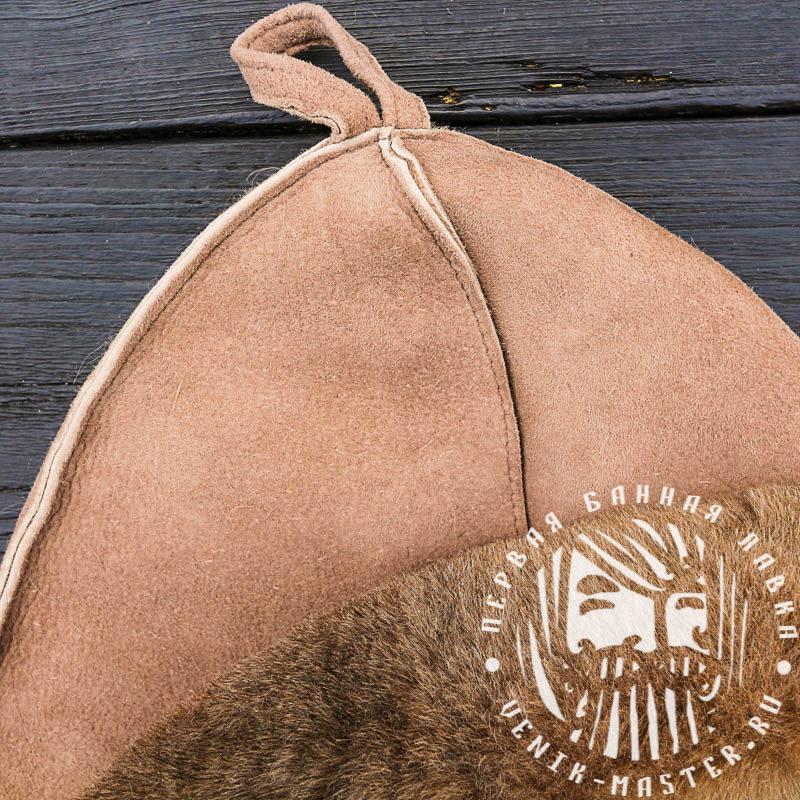 Шапка для банщика меховая