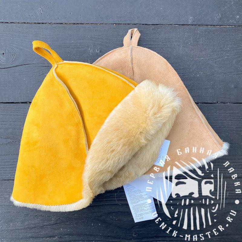 шапки банные из овчины